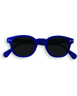 Izipizi Sun Junior Modello #C, Blu Navy - Taglia unica da 4 a 10 anni! Occhiali