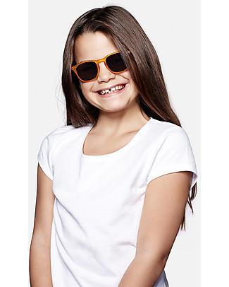 Izipizi Sun Junior Modello #C, Giallo - Taglia unica da 4 a 10 anni! Occhiali