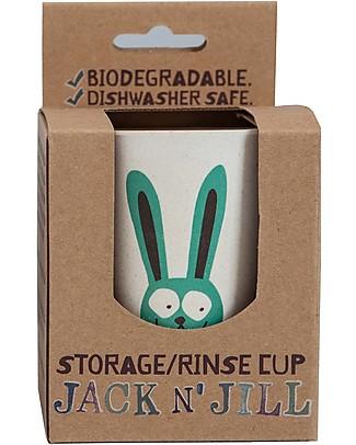 Jack 'n Jill Bicchiere per Risciacquo o per Spazzolino, Bunny il Coniglietto Bagno Doccia Shampoo