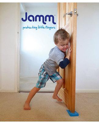 Jamm Fermaporta Jamm - Blu Pacifico - Confezione 2 Pezzi Ferma Porta