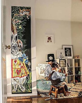 Jaq Jaq Bird Nuovo! Lavagna Adesiva da Muro - Nero - Include 4 Butterstix Gessetti Multicolore Gratis - 46x200cm Colorare