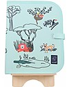 "Jaq Jaq Bird Tovaglietta 2in1 ""Gioca e Mangia"", Safari - Include 4 gessetti Butterstix Set Pappa"