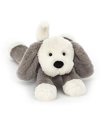 JellyCat Peluche Cagnolino Smudge Puppy - 34 cm - Morbidissimo e divertente! Peluche
