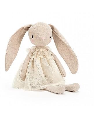 JellyCat Peluche Coniglietta Jolie Rabbit - 30 cm - Morbidissimo e divertente! Peluche
