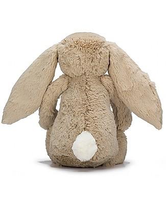 JellyCat Peluche Coniglietto Lunghe Orecchie, Beige (Small) - 18 cm - Morbidissimo e dolce Peluche