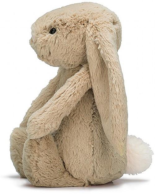 coniglietto pasquale orecchie floppy seduto adorabile coniglietto cremoso coniglietto farcito rosa Animale farcito coniglietto morbido peluche animale ripieno