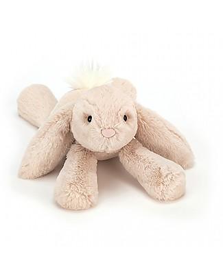 JellyCat Peluche Coniglietto Smudge Rabbit - 34 cm - Morbidissimo e divertente! Peluche