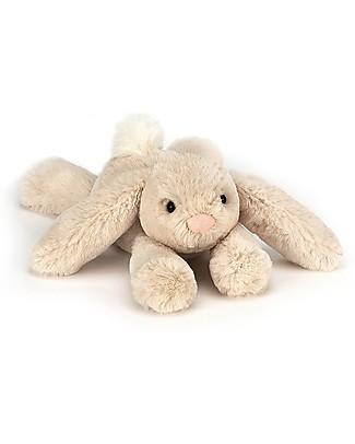 JellyCat Peluche Coniglietto Smudge Rabbit Tiny - 19 cm - Morbidissimo e divertente! Peluche