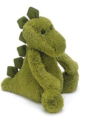 JellyCat Peluche Dinosauro Dino - 31 cm - Morbidissimo e divertente Peluche