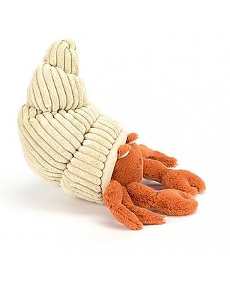 JellyCat Peluche Granchio Herman Hermit - 29 cm - Morbidissimo e divertente! Peluche