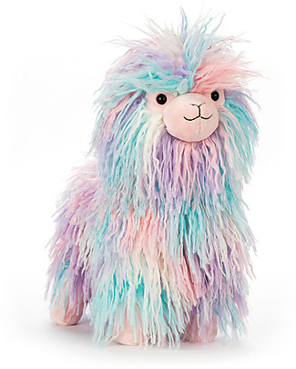 JellyCat Peluche Lovely Lama Little - 20 cm - Morbidissimo e divertente! Peluche