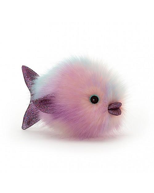 Jellycat Peluche Pesce Palla Disco Fish Pastello 21 Cm