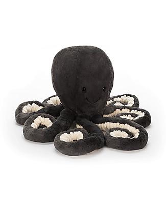 JellyCat Peluche Polpo Inky Octopus - 49 cm - Morbidissimo e divertente Peluche