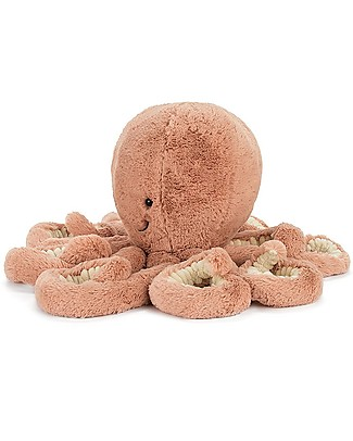 JellyCat Peluche Polpo Odell - 49 cm - Morbidissimo e divertente Peluche