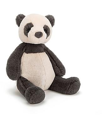 JellyCat Peluche Puffles Panda - 32 cm - Morbidissimo e dolce Peluche