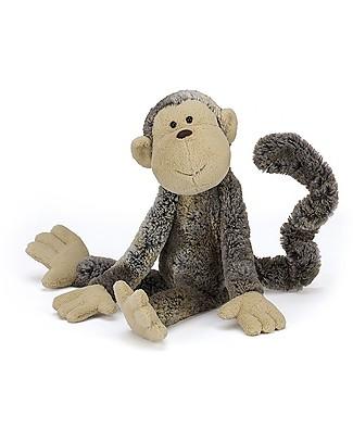JellyCat Peluche Scimmietta Mattie - 42 cm - Morbidissimo e divertente Peluche