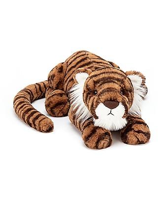 JellyCat Peluche Tigre Tia Tiger Little - 29 cm - Morbidissimo e divertente! Peluche