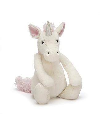 JellyCat Peluche Unicorno - 31 cm - Morbidissimo e dolce Peluche