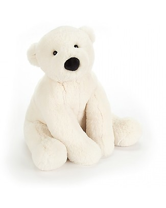 JellyCat Perry Polar Bear Soft Toy - 26 cm - Soft and funny! Soft Toys
