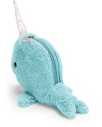 JellyCat Portamonete Seas The Day, Azzurro Portamonete