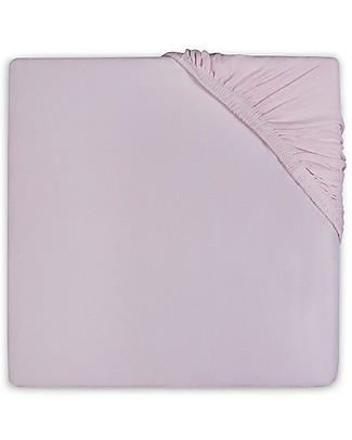 Jollein Lenzuolino con Angoli per Culla, Rosa - 40x80 cm - Jersey di cotone Lenzuola