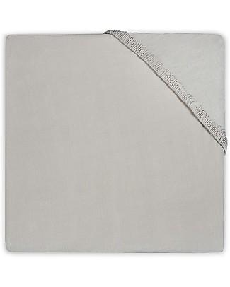 Jollein Lenzuolino con Angoli per Culla, Sabbia - 40x80 cm - Jersey di cotone Lenzuola