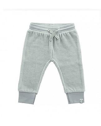 Jollein Pantaloni Lunghi in Ciniglia,  Grigio - Cotone Biologico Pantaloni Lunghi