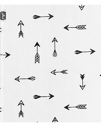Jollein Set Lenzuola Frecce Indiani - 120x 150 cm - 100% cotone Lenzuola
