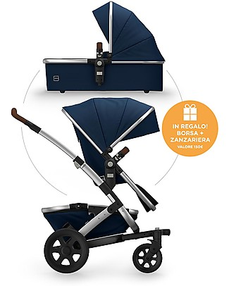 Joolz Day² Earth Duo, Parrot Blue - Passeggino + Carrozzina Sistemi Combinabili