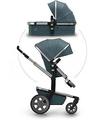 Joolz Day² Earth Quadro Duo set, Blu - Passeggino + Carrozzina Sistemi Combinabili