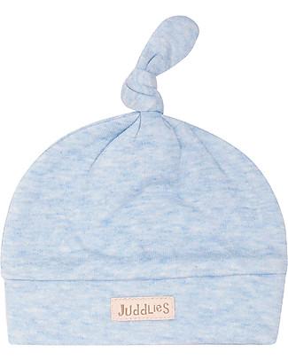 Juddlies Designs Cappellino Baby Breathe-Eze 0-4 Mesi, Azzurro - 100% cotone, il caldo che respira! Cappelli
