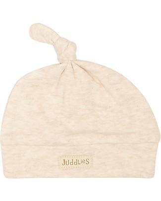 Juddlies Designs Cappellino Baby Breathe-Eze 0-4 Mesi, Ecrù - 100% cotone, il caldo che respira! Cappelli