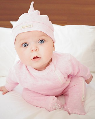 Juddlies Designs Cappellino Baby Breathe-Eze 0-4 Mesi, Rosa - 100% cotone, il caldo che respira! Cappelli