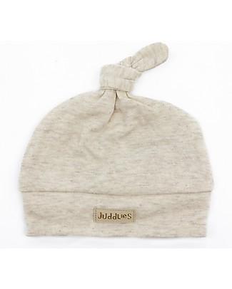 Juddlies Designs Cappellino Baby Breathe-Eze 4-12 Mesi, Ecrù - 100% cotone, il caldo che respira Cappelli Invernali