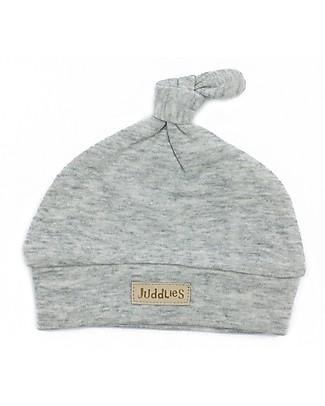 Juddlies Designs Cappellino Baby Breathe-Eze 4-12 Mesi, Grigio - 100% cotone, il caldo che respira Cappelli Invernali