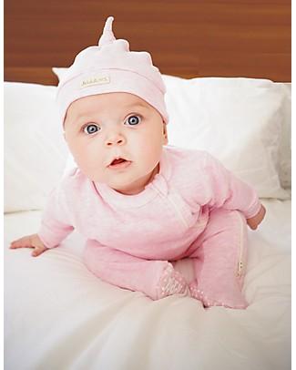 Juddlies Designs Cappellino Baby Breathe-Eze 4-12 Mesi, Rosa - 100% cotone, il caldo che respira Cappelli Invernali