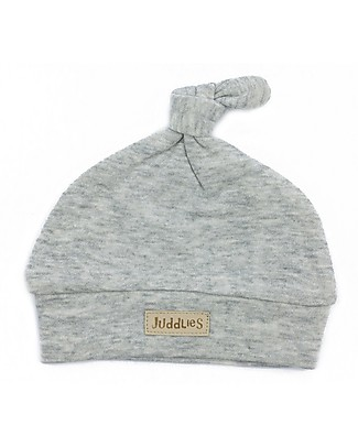 Juddlies Designs Cappellino Baby Breathe-Eze, Grigio - 100% cotone, il caldo che respira Cappelli