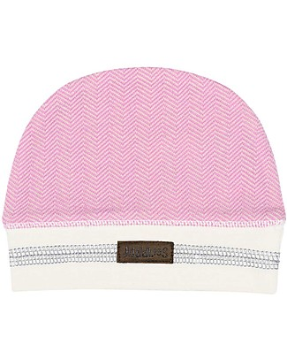 Juddlies Designs Cappellino Cottage Collection, Rosa - 100% Cotone Bio Cappelli