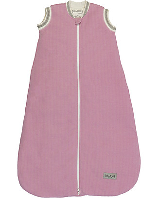 Juddlies Designs Sacco Nanna Cottage Collection 2,5 Tog, Rosa e Bianco - 100% cotone Sacchi Nanna Pesanti