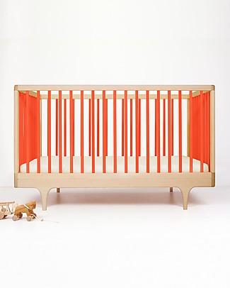 Kalon Studios Caravan Crib Lettino Rosso - Convertibile 0-6 anni  Lettini Con Sbarre