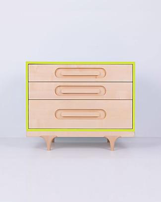 Kalon Studios Cassettiera Caravan - Verde Lime Cassettiere