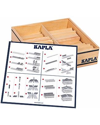 Kapla Kapla 100, Costruzioni in Legno, Naturale - Educativo e divertente! Construzioni In Legno