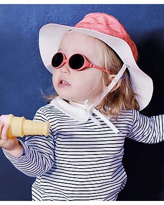 Ki et La Cappellino da Sole Bambina + Occhiali da Sole + Sacca da Spiaggia -0-18 Mesi - Fantasia Gelato Occhiali