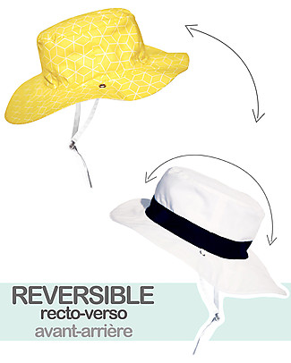 Ki et La Cappellino Reversibile – Anti-UV – Fantasia Cubik Sun Cappelli