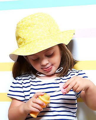 Ki et La Cappellino Reversibile - Anti-UV, Fantasia Cubik Sun Cappelli