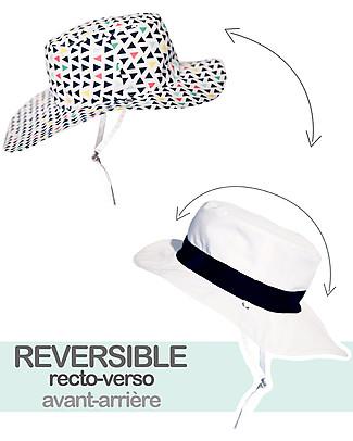 Ki et La Cappellino Reversibile - Anti-UV, Fantasia Fun Fair Cappelli