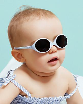 Ki et La Occhiali da Sole Baby Diabola 0-18 Mesi - Azzurro - Anti UVA+UVB e Infrangibili! Occhiali