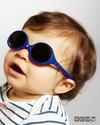Ki et La Occhiali da Sole Baby Diabola 0-18 Mesi - Blu Scuro - Anti UVA+UVB e Infrangibili! Occhiali