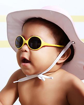 Ki et La Occhiali da Sole Baby Diabola 0-18 Mesi - Giallo - Anti UVA+UVB e Infrangibili! Occhiali
