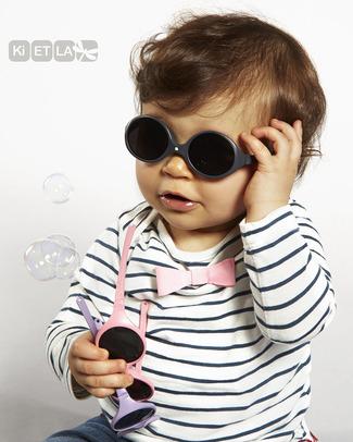 Ki et La Occhiali da Sole Baby Diabola 0-18 Mesi - Grigio Anti UVA+UVB e Infrangibili! Occhiali